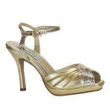 Leather Stilettos Sandals