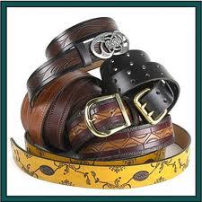 Ladies Plain Leather Belt
