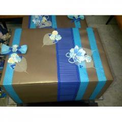 Blue Fancy Wrap