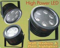 LED Wall Washers and High-lighters