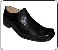 Mens Leather Formal Gunner Shoe