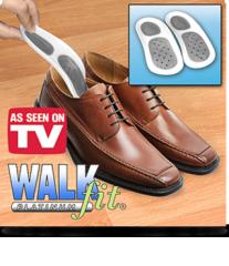 WalkFit Platinum shoe insoles