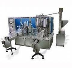Bottle Filling & Capping Unit