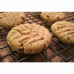 Butter Cashew Cookies.