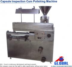 Capsule Inspection Cum Polishing Machine