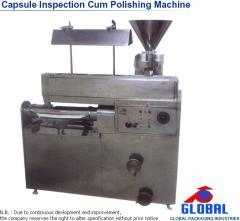 Capsule Inspection Cum Polishing Machine