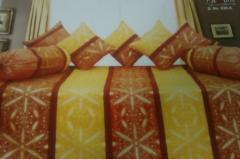 Pure Cotton Bedsheet nd Cushion Cover Combo From