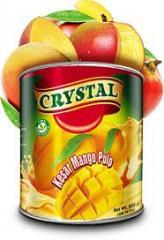Crystal Kesar Mango Pulp