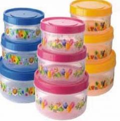 Biscuit Barrel Round Super Fresh Container
