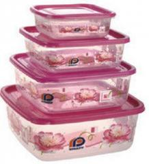 Pink Printed Delight Container