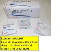 Megalis-20Tabs. Kc pharma Pvt.Ltd. Export