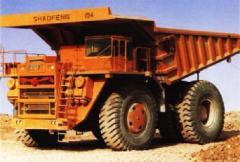 SF32601 Electric Drive Dump Truck