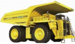 SF35100 Electric Drive Dump Truck
