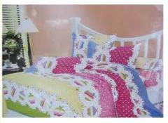Satin Embroidery Bed Sheet