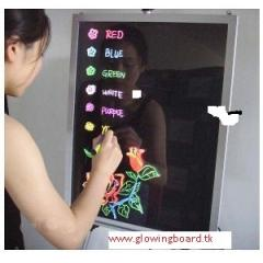 LED Writing Board, Write-N-Glow Board, Glowing