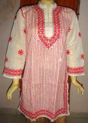 Hand Embroidered Kurti