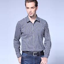 100% cotton mens long sleeve shirts