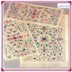 Carpet coverings woven