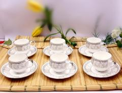 Bone China Cup & Saucer Set