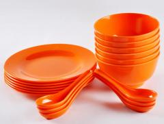 Melamine Soup Set