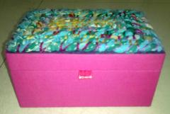 Cotton Jewelry Box