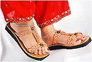 Designer Palm Leaf Sandals