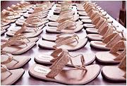 Palm Leaf Ladies Sandals