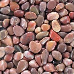 Red Colour Pebbles