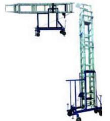 Aluminum Square Tiltable Tower Ladder