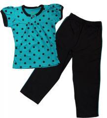 Girls Knitted Night Suits (Pajama Set )