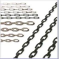 Stainless steel link chain DIN