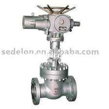 Electric Actuator Wedge Gate Valve Industrial gate