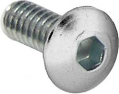 Hexagon socket button head cap screw with flange