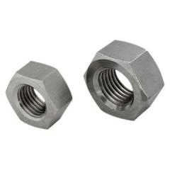 Hexagon nuts- steel and steel zinc plated