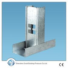 Ceiling and partition metal stud channel