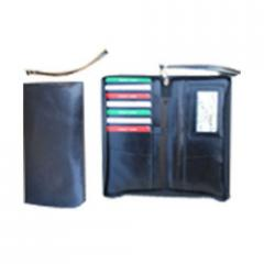 Leather Cheque Book Covers