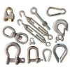 Shackle wire rope clamps