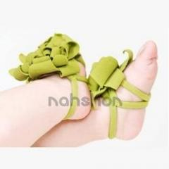 Green Baby Barefoot Flowers