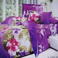 Rose Wood Bed Sheet