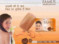Famus Sandal Freshness Beauty Soap