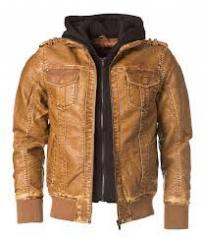 Designer Brown Leather Jackets