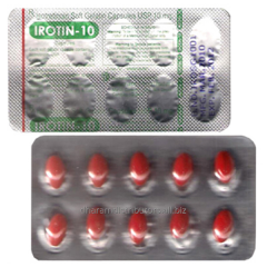 Irotin 10mg (Isotretinoin Capsules)