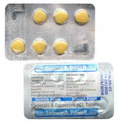 Snovitra Power (Vardenafil + Dapoxetine)
