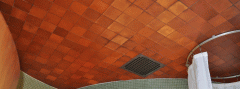 Leather Tiles for ceilings
