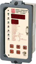 Under/Over Frequency Monitor Relay : AUOFMR2