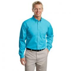 Men's Port Authority Easy Care Long Sleeve