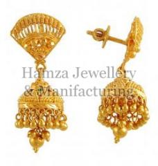 Gold Earrings 03