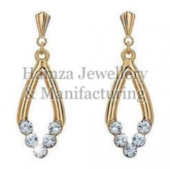 Gold Earrings 04