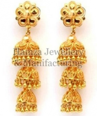 Gold Earrings 05