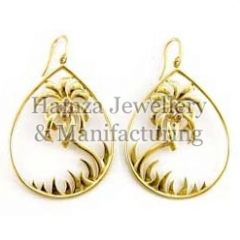 Gold Earrings 14